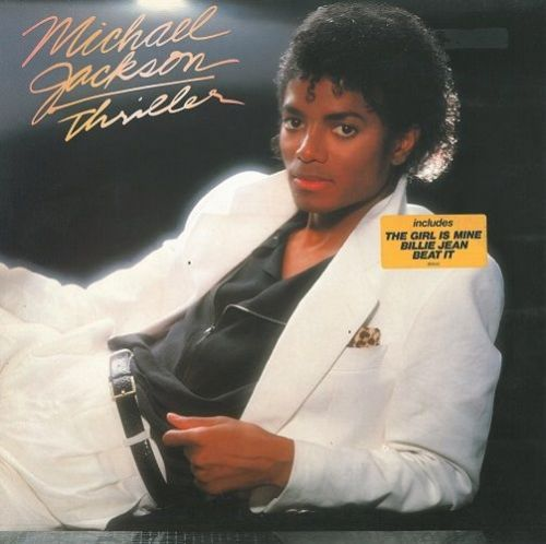 MICHAEL JACKSON Thriller Vinyl Record LP Dutch Epic 1982